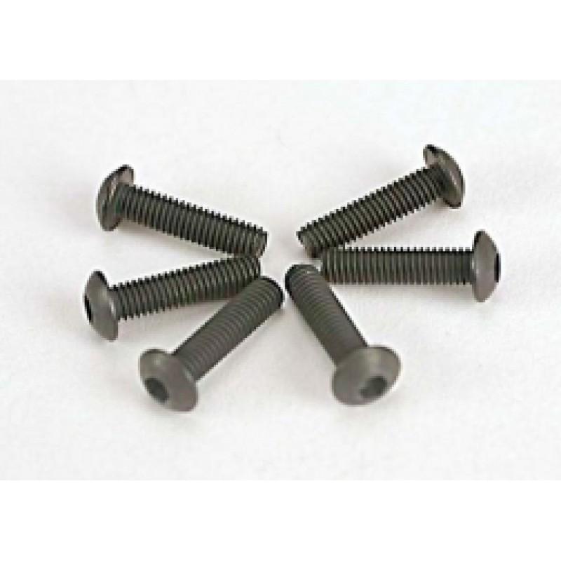 Parafusos 3x12mm (unidade hexagonal) (6)
