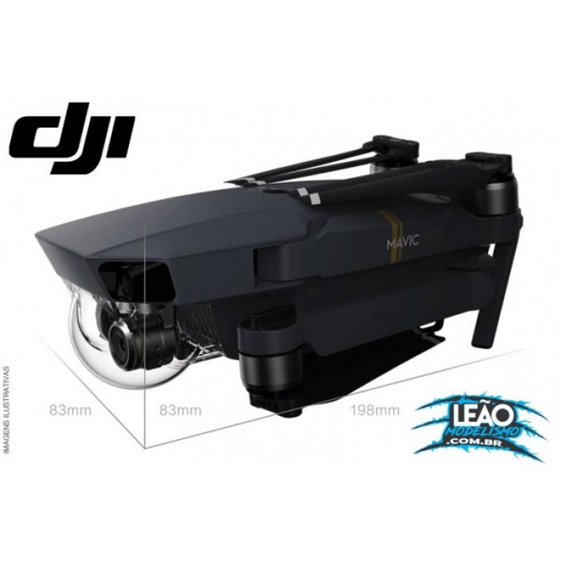 DJI35190-4 - MAVIC PRO C/ DUAS BATERIAS EXTRAS