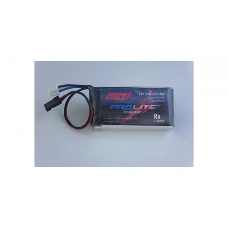 BATERIA 1350MAH 2-CELL/2S 7.4V PROLITE + POWER RX ...