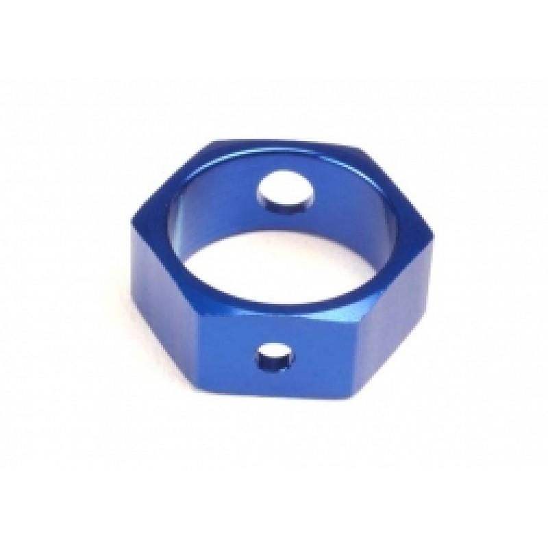 Adaptador de freio, alumínio hexagonal (azul) (us...