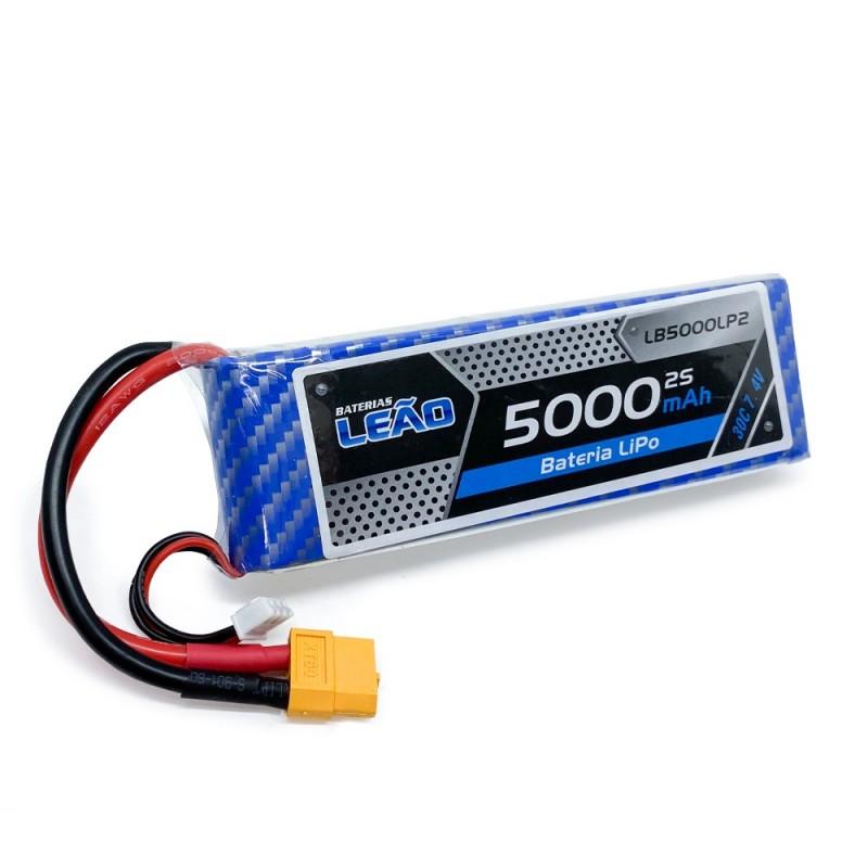 Bateria Lipo - | Bateria Lipo - 7.4V/2S - 5000mAh ...
