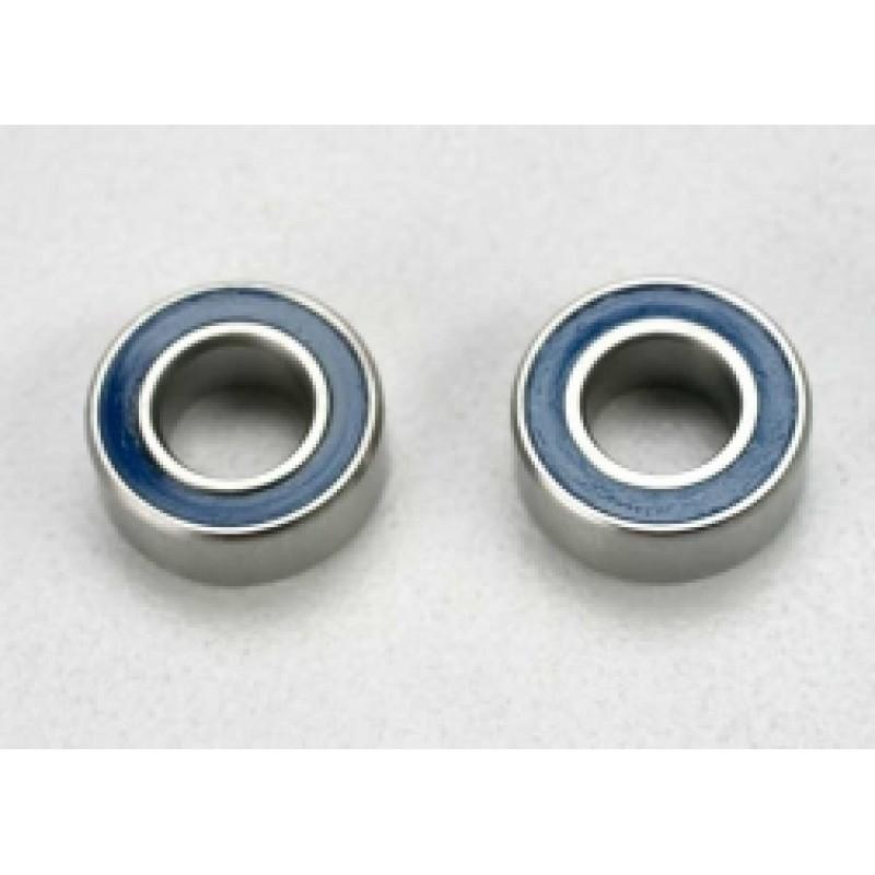 Rolamentos de esferas em borracha azul (5x10x4mm) ...