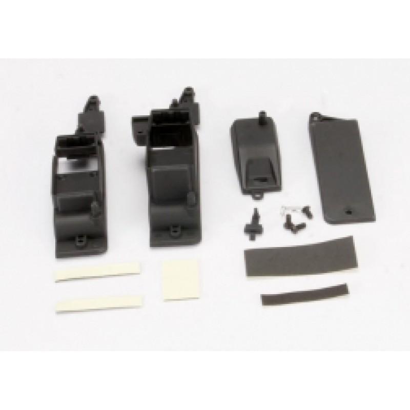 Caixa, receptor e bateria (2) / capa / almofada de...