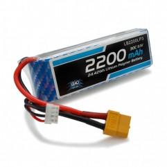 Bateria Lipo - 11.1V - 3S - 2200mAh - 30C/60C - XT...
