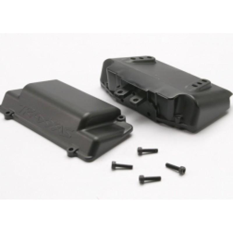 Caixa de bateria, pára-choques (traseira) (inclu...