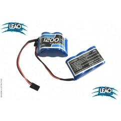 LB1200NI-3+2 - Bateria NiMh - 6V - 1200mha