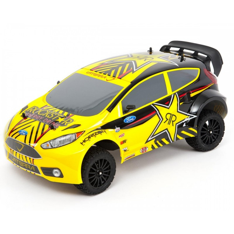 Automodelo Ford Fiesta Rockstar RallyCross 4WD Car RTR AVC