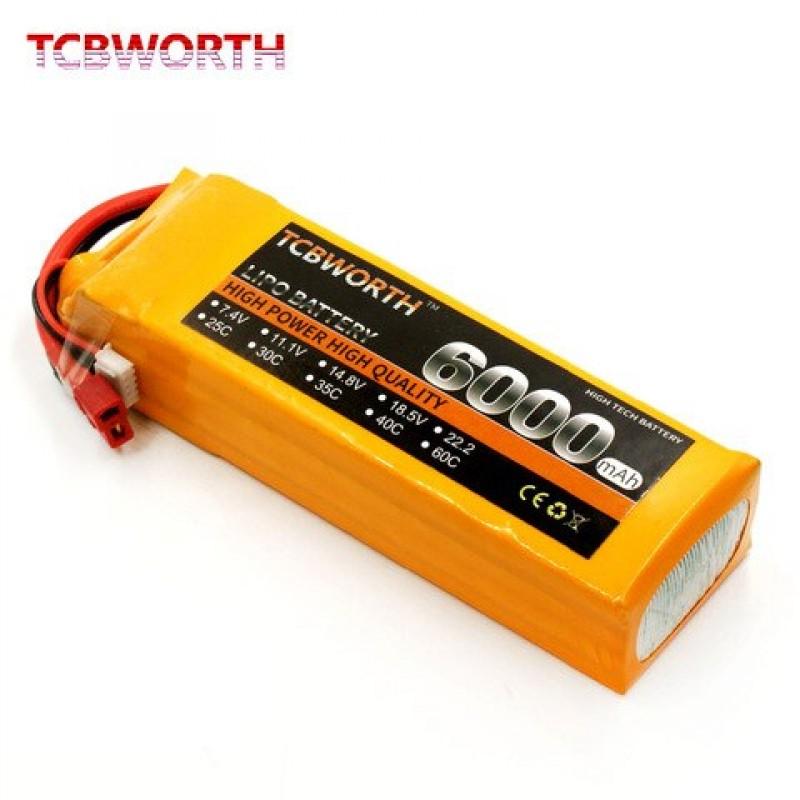 Bateria 3 s 11.1 v 6000mah 60c rc lipo bateria | B...