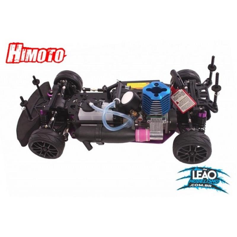 Automodelo á Combustão Himoto Ford Mustang Motor SH18   HI9102MUSTANG